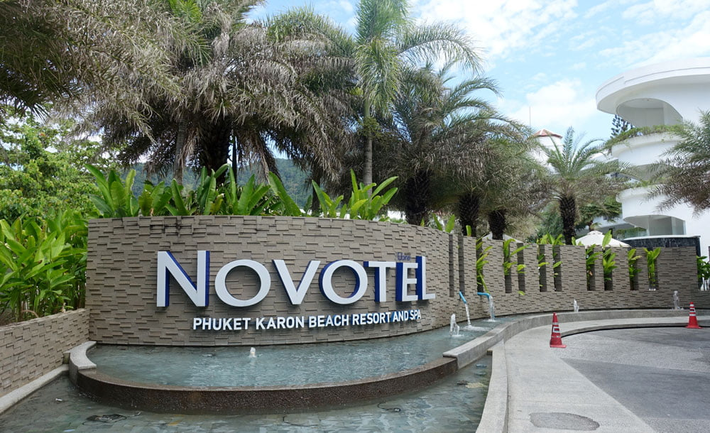 Novotel Phuket Karon Entrance Sign