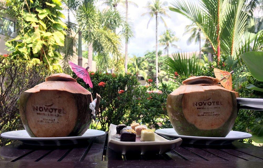 Novotel Phuket Surin Room Coconuts