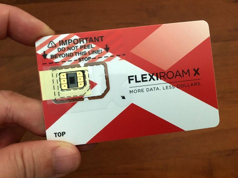Flexiroam Chip