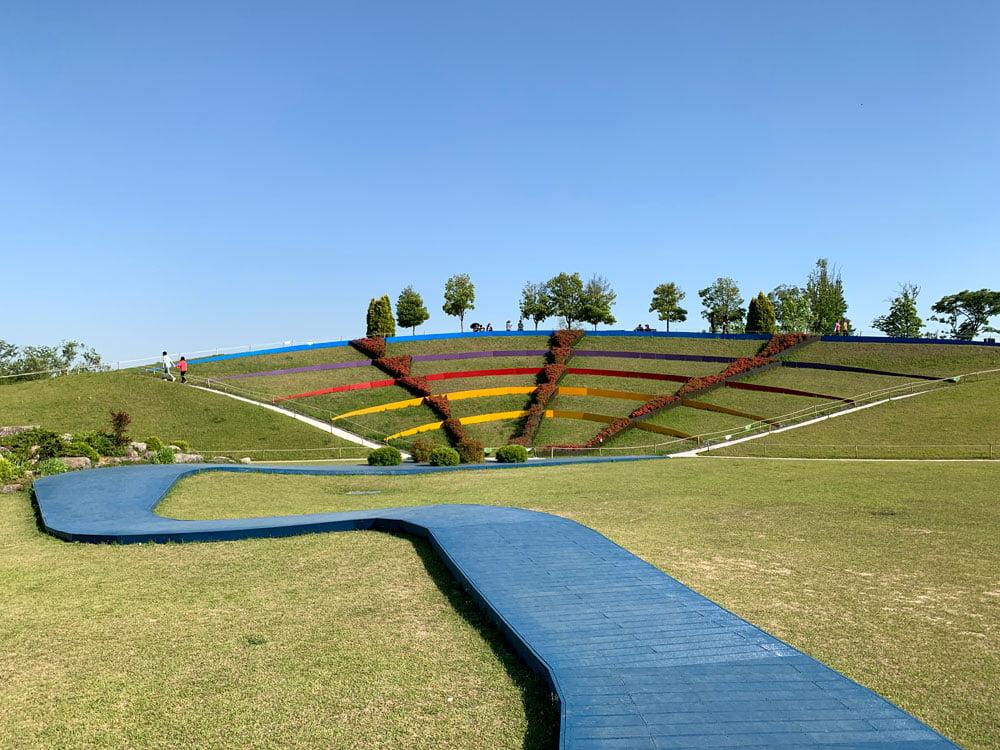 Suncheon Bay Gardens Terraces Colourful