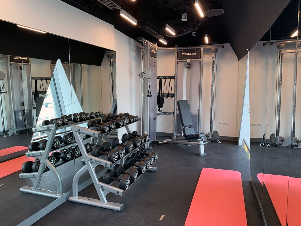 YotelAir Jewel Gym 2
