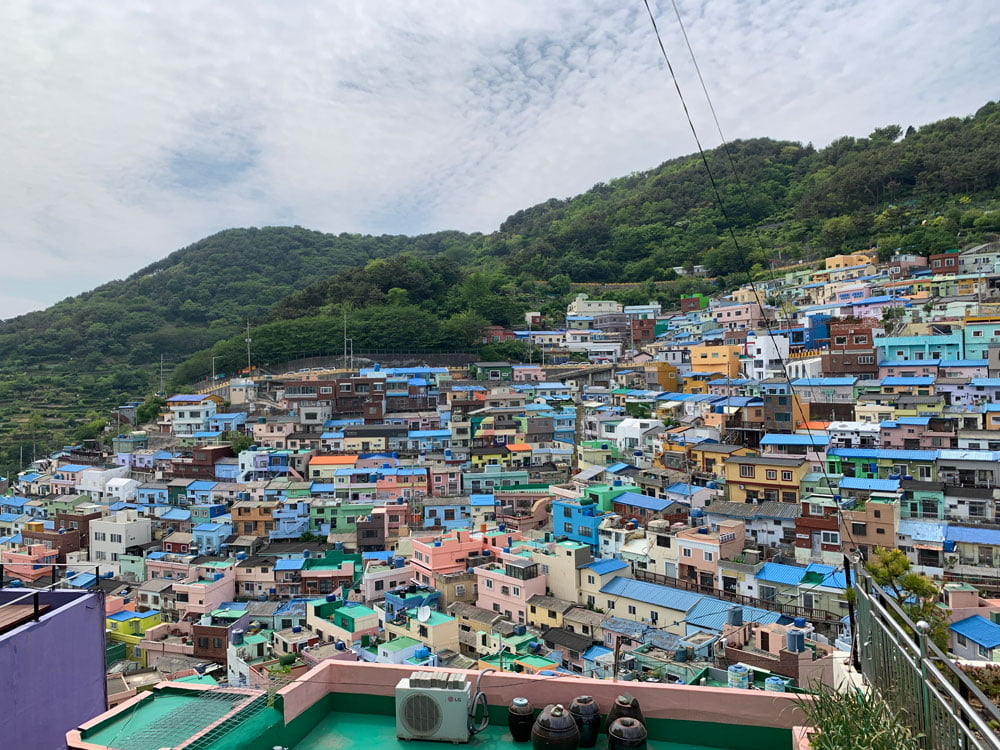 Busan Gamcheon Culture Village Houses