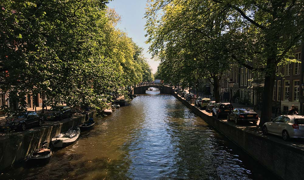 Amsterdam Canal Waterway
